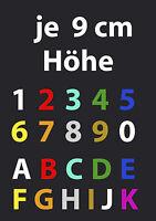 Hausnummer Zahl Ziffer I 5 Stück I Nummer Buchstaben Klebeziffer Klebezahlen