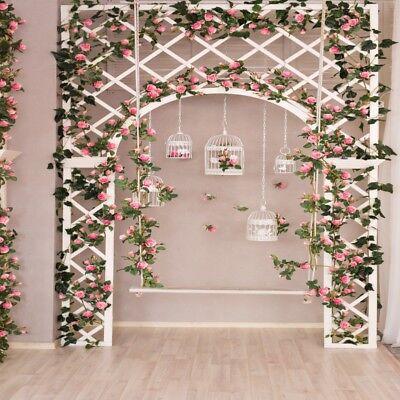 Seamless 8x8ft Studio Wedding Photography Backdrop Flower Wall Photo Backgrounds Ebay