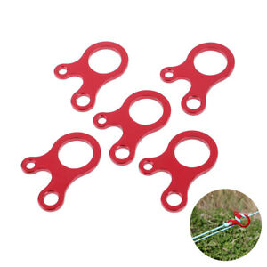 5-Pcs-3-Hole-Knot-Tent-Wind-Rope-Buckle-Anti-slip-Hook-Hanger-Tightener-CampinHC