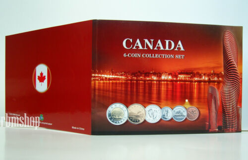 SOUVENIR TAX INCLUDED HOLDER BEAUTIFUL CANADIAN GIFT NEW CANADA COIN FOLDER