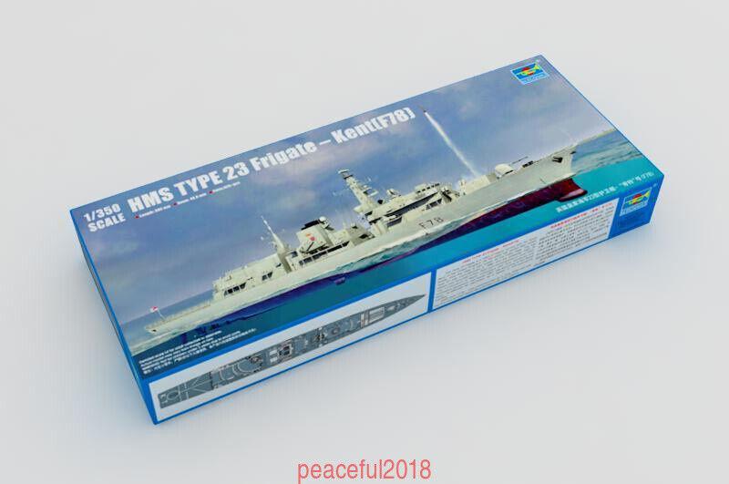 Trumpeter 1 350 04544 HMS Type 23 Frigate Kent (F78)