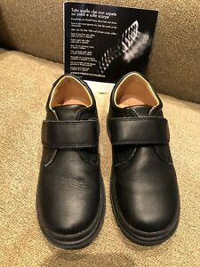 Image is loading Geox-William-Oxford-Boys-Black-Shoes-Worn-Once- 9435629c82cc
