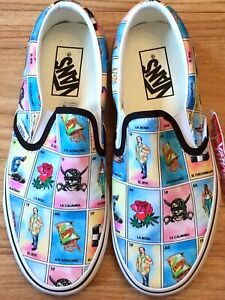 Classic Loteria Slip On Tennis Shoes