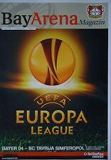 Programm UEFA EL 2010/11 Bayer Leverkusen - Tavrija Simferopol
