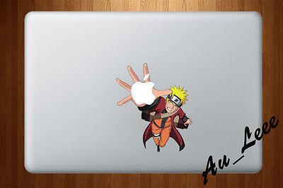Macbook Air Pro Vinyl Skin Sticker Decal Naruto Shippuden Anime Uzumaki CMAC084