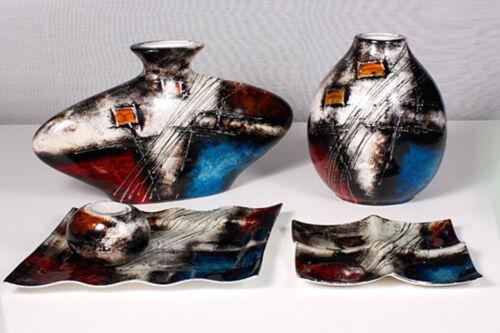 Teller Glas Deko Schale Kassiopeia 19 cm (S550001) Glasschale Dekoschale