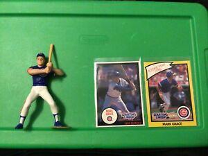 Chicago Cubs 1990 Starting Lineup MARK GRACE(batting) Loose MLB SLU Figure card