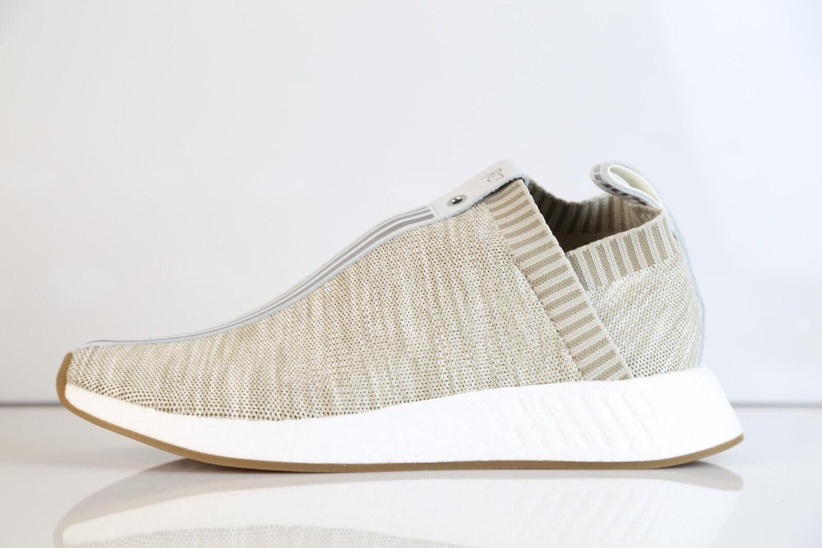 Adidas X Kith Kith Kith X Naked Consortium City Sock NMD C2 PK Tan BY2597 5-12 boost rf 523529