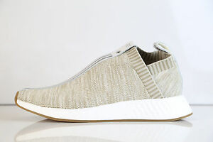 buy online best loved online retailer Details about Adidas X Kith X Naked Consortium City Sock NMD C2 PK Tan  BY2597 5-12 boost rf
