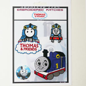 THOMAS-amp-FRIENDS-THE-TANK-ENGINE-Patches-Iron-On-Patch-Super-Set-041-FREE-POST