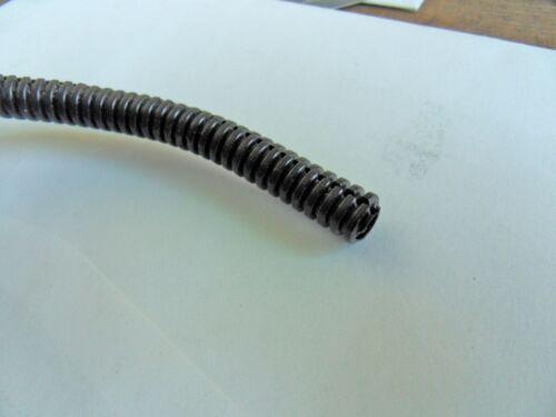 "1//4/"" Split Wire Loom Conduit Polyethylene Tubing Black Sleeve Tube 20/' Free Ship"