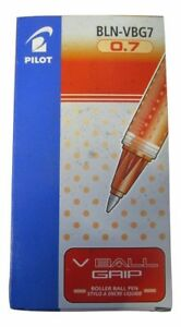 Pilot-Red-Ball-Grip-07-Rollerball-Pens-Pack-of-12