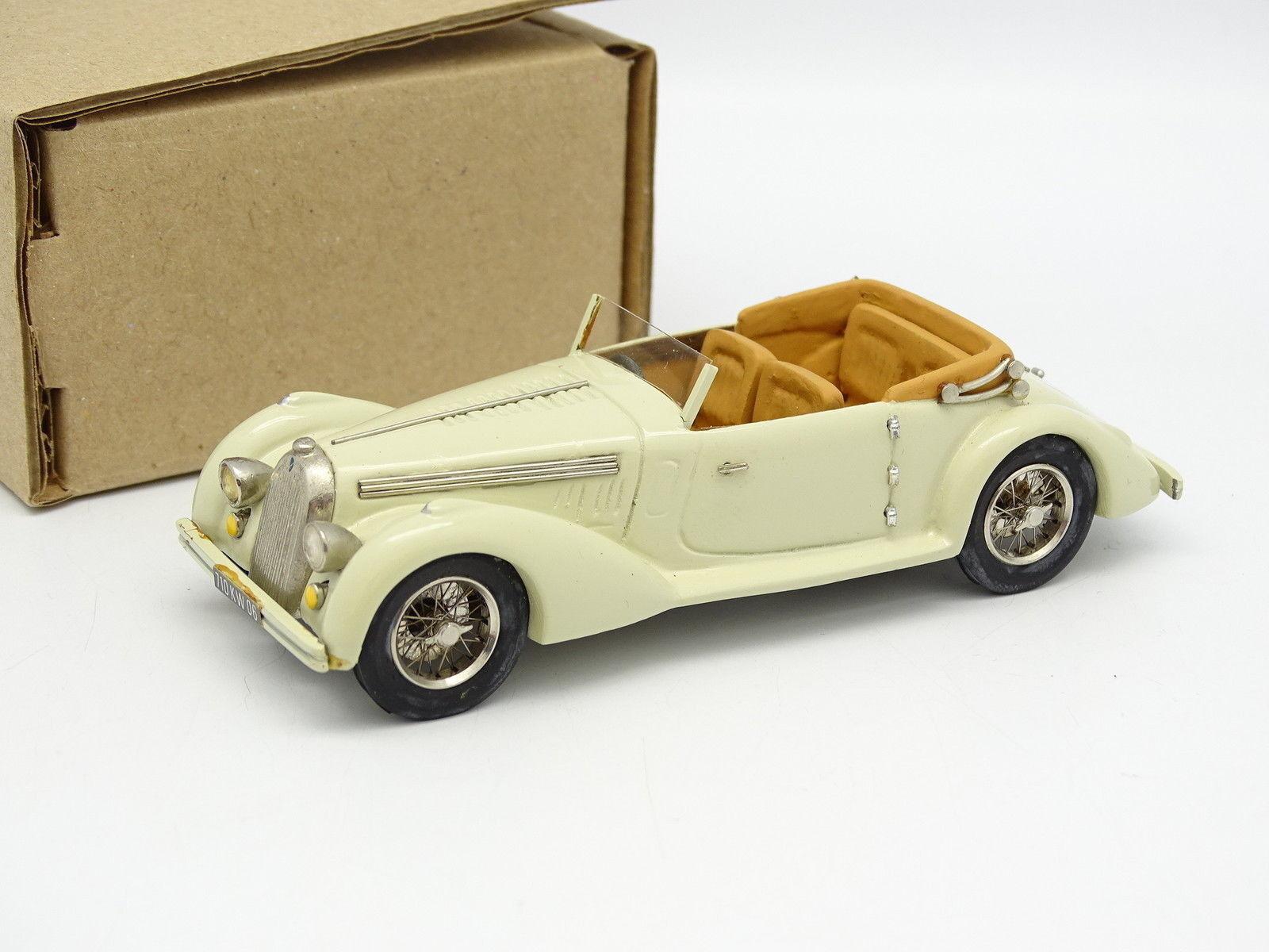 Ma Collection Brianza Résine 1 43 - Talbot Lago Record 1935 Crème