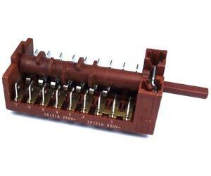 Genuino-Finlux-Repuesto-bis60ss-Horno-Cocina-Funcion-Interruptor-Selector