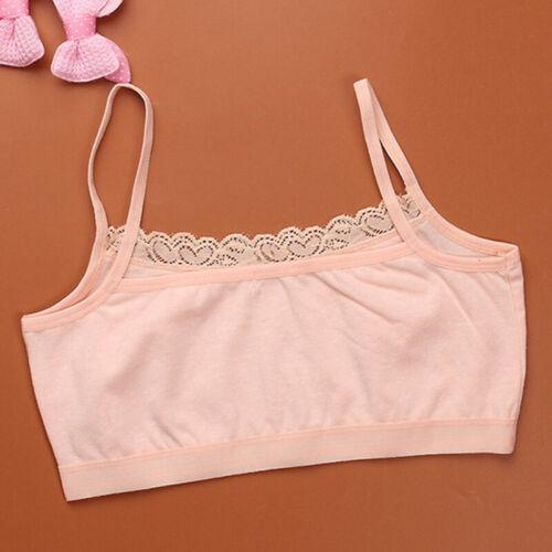 Crop top Sport Bra Seamless bra For 10-14yrs old Stretchable Girls Children New