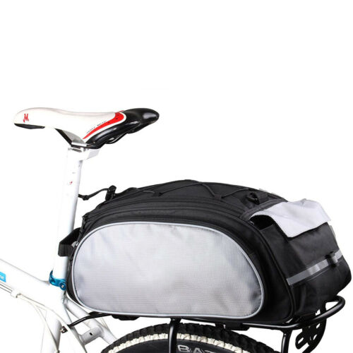 13L Fahrradtasche Multifunktion Gepäckträger Packtaschen Wasserdicht Satteltasch
