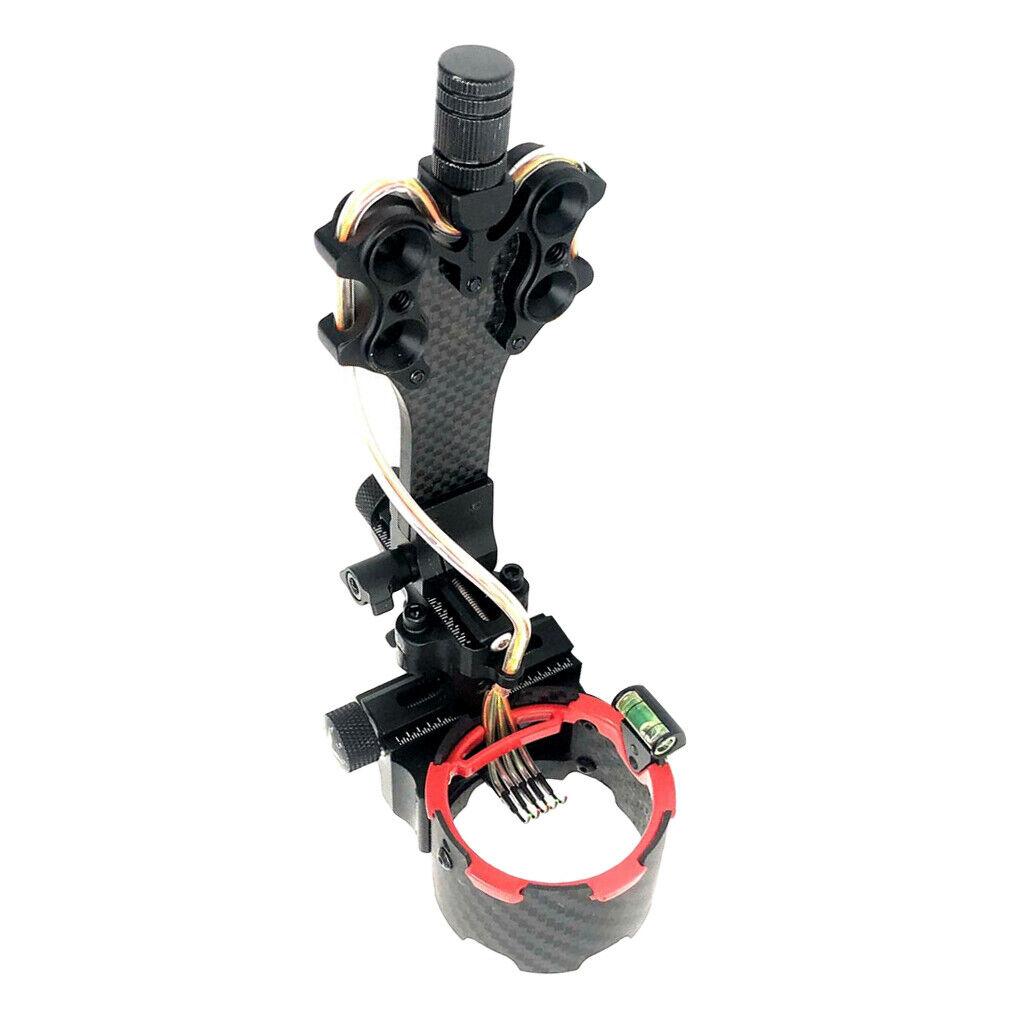 Precisamente 5-pin compound-arco visión arquería accesorios