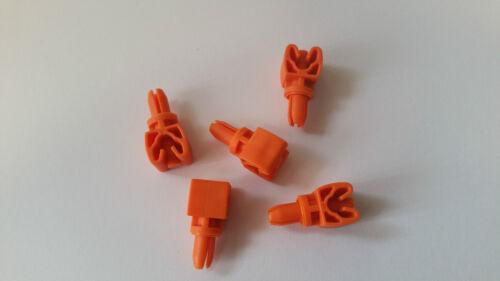 6,00 mm 5 Stück Klemmhalter 1-fach Halterung Bremsleitung Clip Leitung 4,75