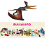 Pteranodon-Sternbergi-Dinosaure-Figurine-Peint-a-Main-Jeux-Jouet-Bullyland-61452 miniature 1