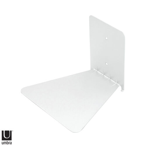 Umbra Wall Mount Conceal Floating Shelf White Invisible Large Book Home Design