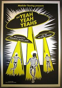 Yeah-Yeah-Yeahs-Melbourne-06-Concert-Poster-Art-Jazz-Feldy
