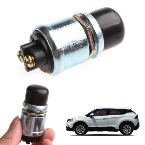 Waterproof Car Boat Track Engine Switch Horn Push Button Start Starter 12V 20A
