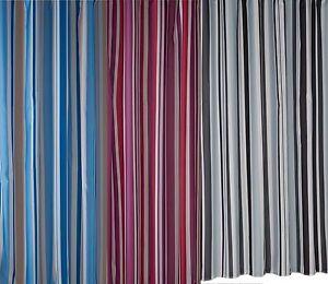 Bathroom-Luxury-Stripe-Mould-Resistant-Bath-Shower-Curtain-Set-Made-By-Croydex