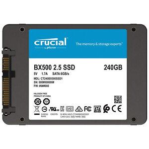 "Crucial BX500 240GB 2,5"" SSD Interno (CT240BX500SSD1)"
