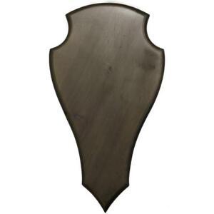 Engraving-Plate-Hunting-Trophy-Carved-Wooden-Board-Shield-Holder-Medals-DT-17
