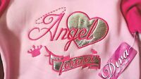 Pink Angel Forever Girls Sweatsuit 2 Pc Outfit Size 24 M