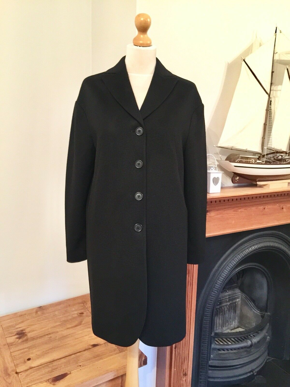 Sand Copenhagen Ladies Wool & Cashmere Coat RRP  , Size