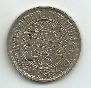 Morocco-10-Francs-1946-and-44-XF