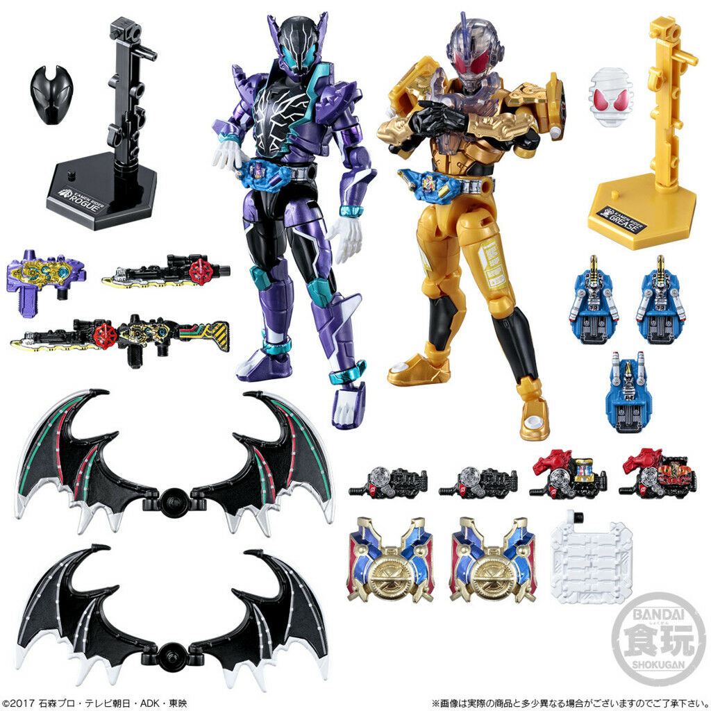 PSL Japan Rare Kamen Rider Build Shokugan So-do Build Final Figures Complete Set
