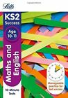 KS2 Maths and English SATs Age 10-11: 10-Minute Tests: 2018 Tests by Letts KS2, Jason White, Nick Barber (Paperback, 2015)