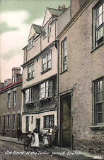 Exeter. Old Houses of the Tudor Period # 1016 by JWS.