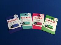Sandisk Cruzer Dial Usb 2.0 Flash Drive, 32 Gb, Available In 4 Colors