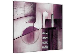 Détails sur Prune Gris Peinture Salle de Bain Toile Mur  accessoires-Abstract 1s420s - 49 cm- afficher le titre d\'origine