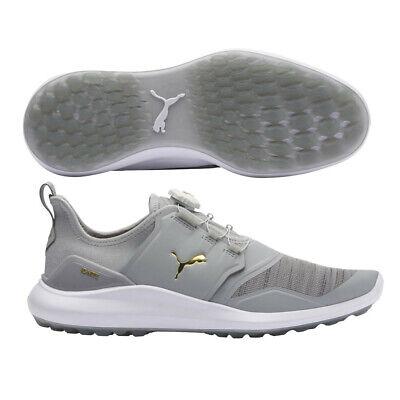 Puma Ignite NXT Disc Golf Shoes High RiseTeam GoldWhite NEW 11010   eBay