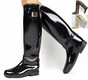 Botas-de-mujer-NUEVO-Botas-De-Agua-Botas-botines-talla-36-37-38-39-40-41-Zapatos