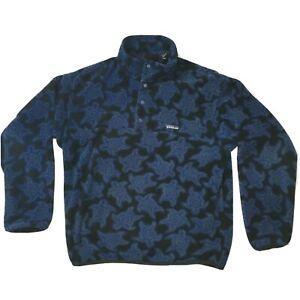 Patagonia Vintage 1995 Sea Turtles Fleece Sweater 1 4