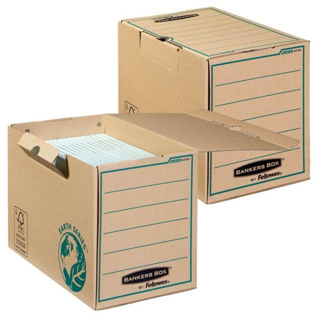 Archivboxen 20 Stück Fellowes Bankers Box - Breite 20 cm Earth Series A4+