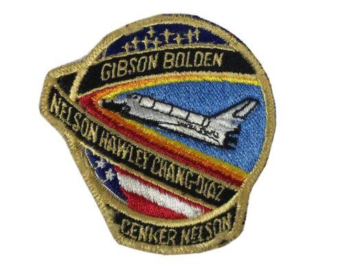 PATCH Badge NASA SPACE SHUTTLE Columbia STS-61-C Gibson Bolden Nelson Souvenir