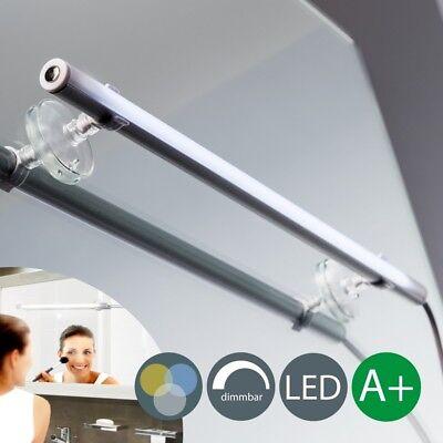 LED Schmink-Licht Make-Up Spiegel-Leuchte Touch-Dimmer Kosmetik-Lampe Badezimmer