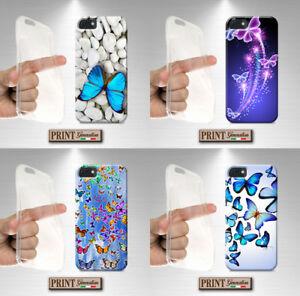 Coque-Pour-Huawei-Papillons-Silicone-Doux-Elegante-Motif-Mince-Etui
