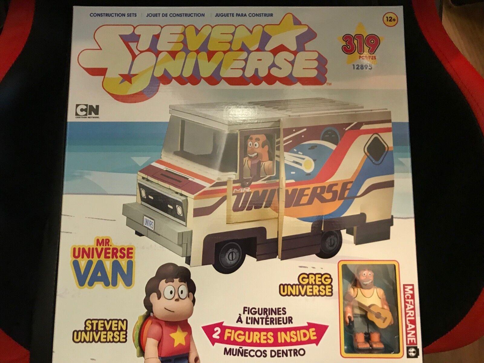 McFarlane Toys Steven Universe Greg Mr. Universe Van 319 pc Builing Set