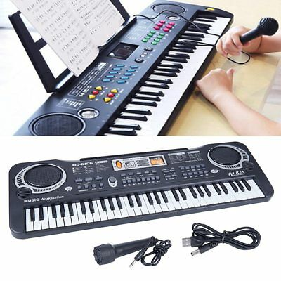 Electronic Piano Or Keyboard : 61 keys digital electric piano music electronic keyboard organ mini microphone 192948326844 ebay ~ Hamham.info Haus und Dekorationen
