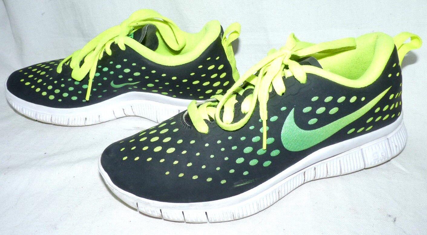 Nike Free 5.0 Express Trainers GS 641862-005 Lime Black UK5.5 EU38.5 Casual wild