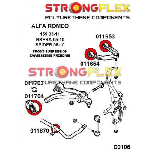 50708721 Alfa Romeo 159 Brera silent bloc du bras inférieur avant 54mm SPORT