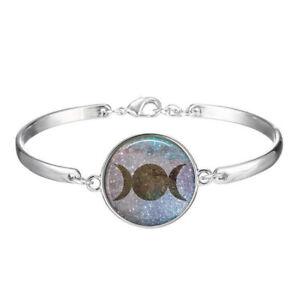 Details About Triple Dess Bracelets Wiccan Jewelry Moon