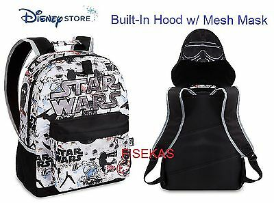 Disney Store Imperial Death Trooper Deluxe Backpack Rogue One A Star Wars Story